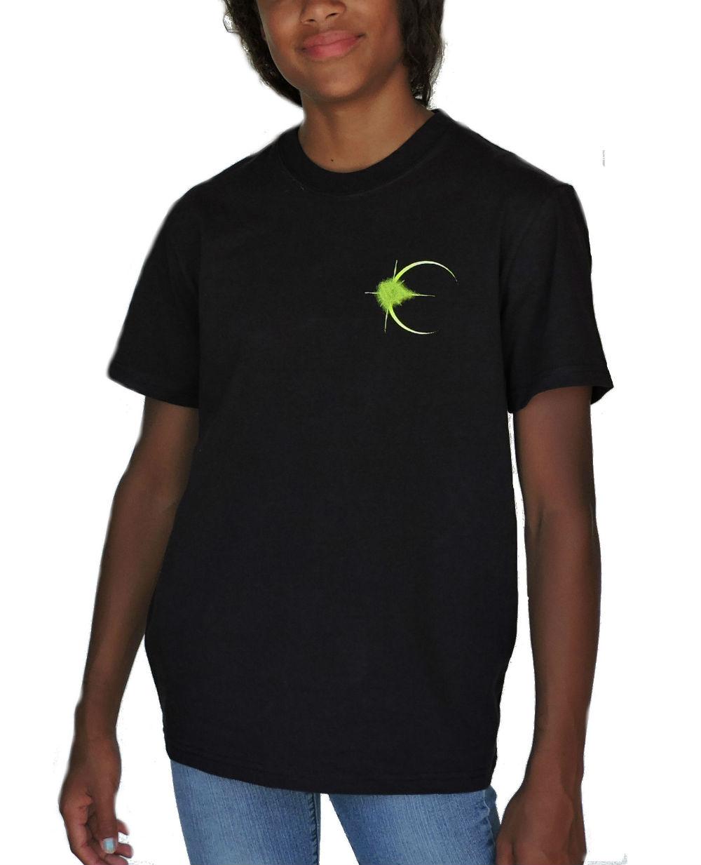 Sephlin - Lady E Girl's Solar Eclipse Black T_Shirt