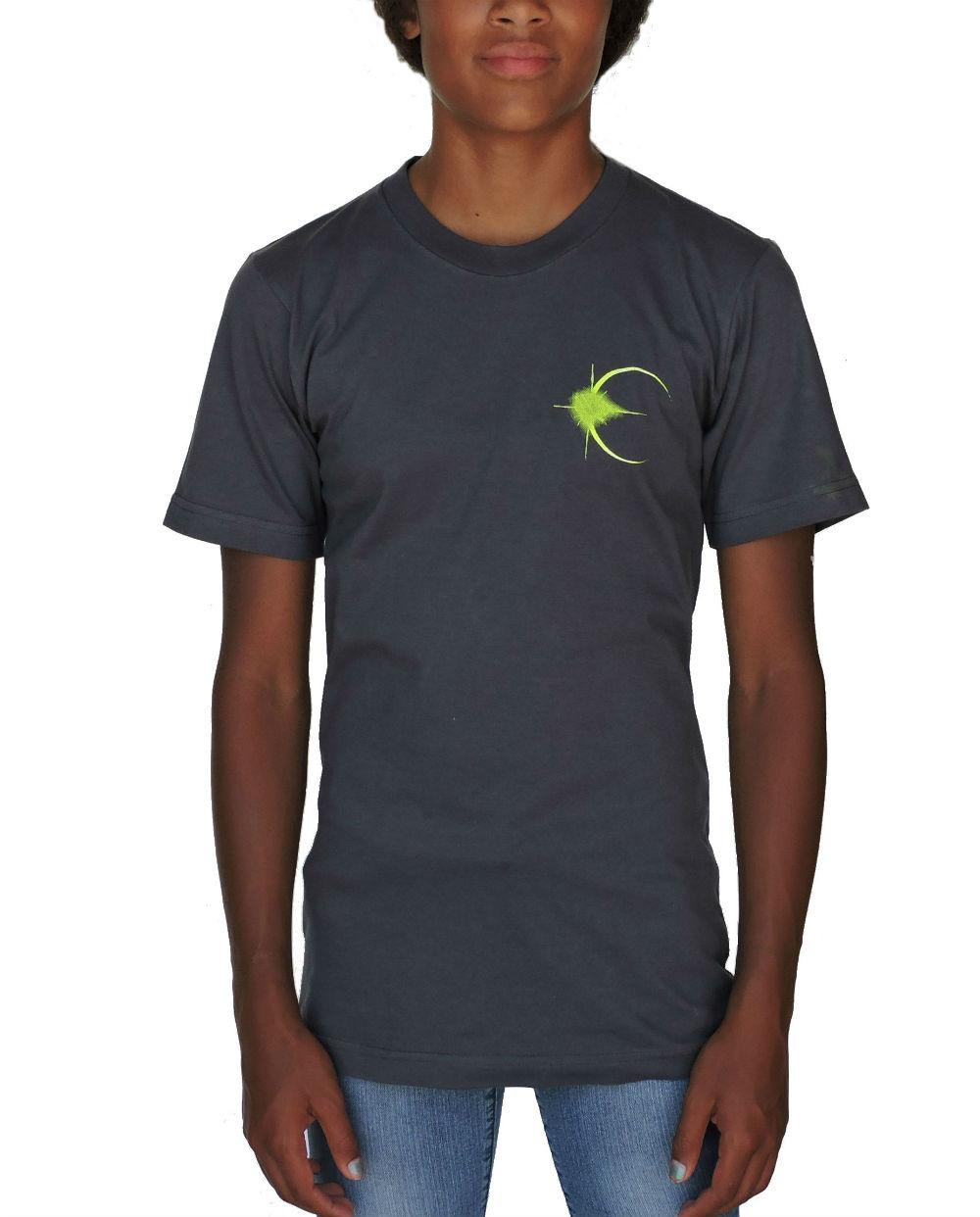 Sephlin - Lady E Girl's Solar Eclipse Grey T_Shirt