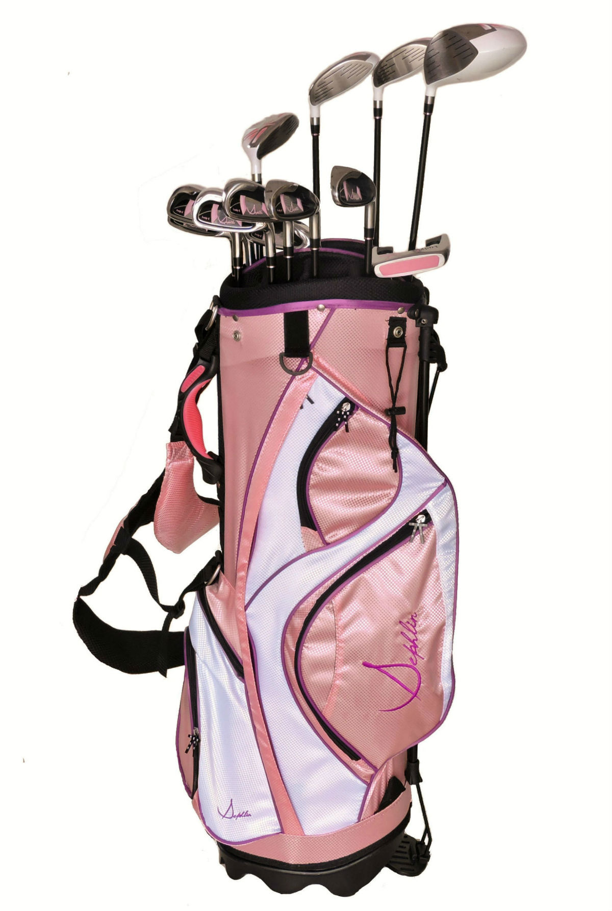 Sephlin Elite Womens *13* Pcs Golf Club Set and Golf Bag  RH