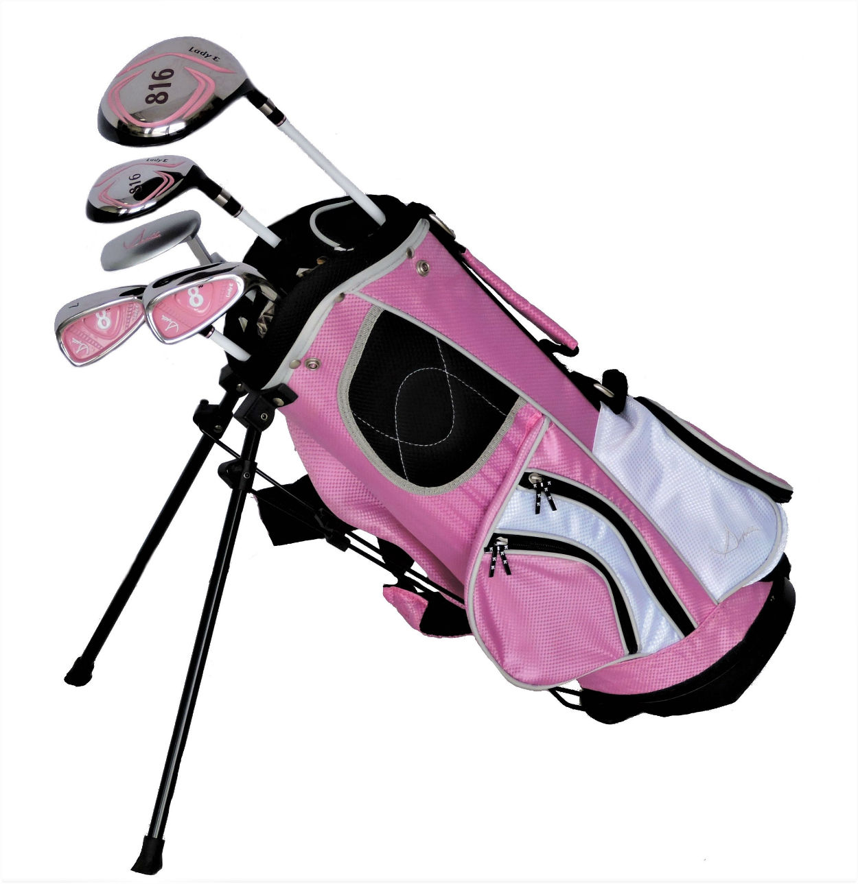 Sephlin - Lady E Girls Pink Golf Set *5* Pcs &  Bag  Ages 3-6 RH