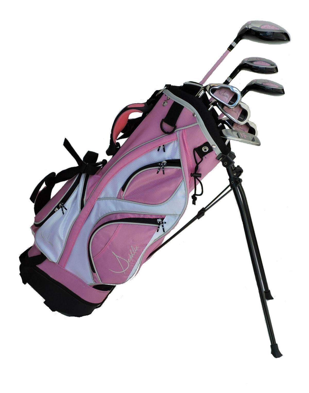 Sephlin - Lady E  7 Pcs Girls Golf Club Set & Golf Bag Ages 3-6 Left Handed
