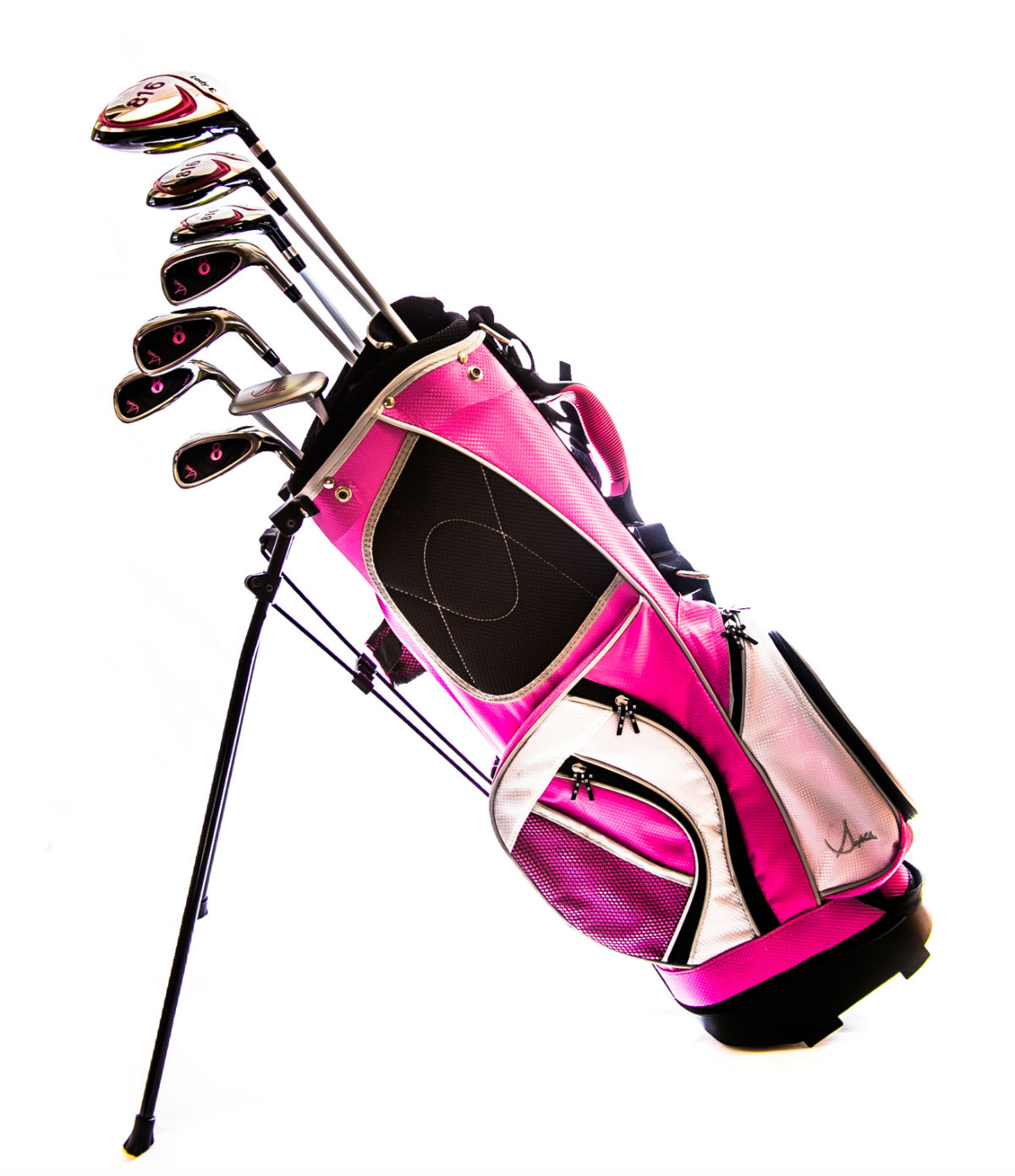 Sephlin - Lady Talia *8*  Pcs Golf Club Set and Golf Bag Ages 11 - 14 RH