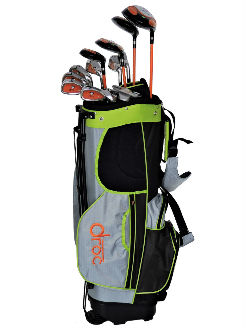 DROC - Dimond Series 13 Pcs Golf Club Set & Golf Bag Age 11-14 Right Handed